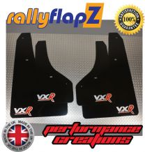ASTRA GTC  VXR (2012+) BLACK MUDFLAPS LOGO SILVER/RED